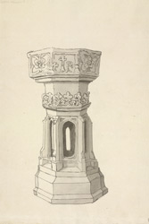 Stanton Harcourt, church font